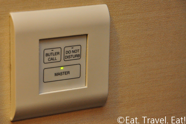 Island Shangri-La Butler Call/Do Not Disturb Button