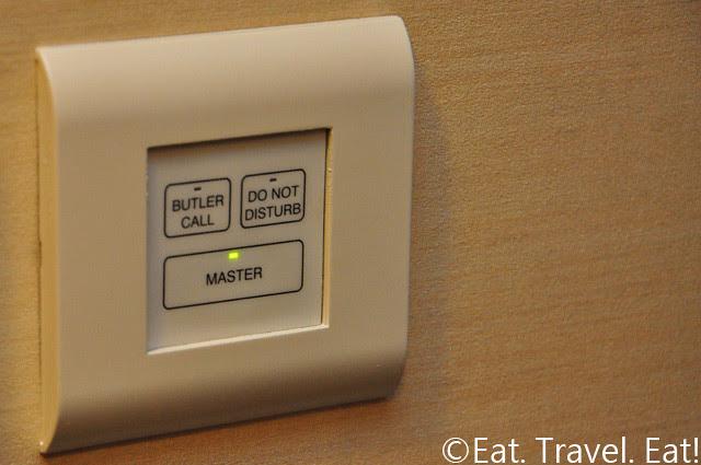 Island Shangri-La Butler Call/Do Not Disturb Button