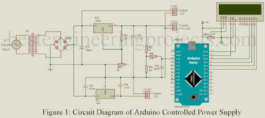 Arduino Controlled Variable Power Supply - Best Engineering Projects
