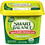 Smart Balance Buttery Spread Organic 13oz (PACK OF 6)