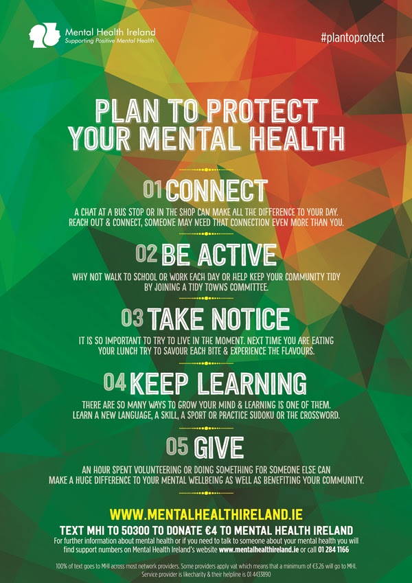 Infographic: Mental Health Ireland's five simple tips to ...