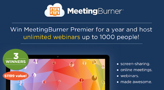 MeetingBurner - 1000 Person Webinars for a Year!
