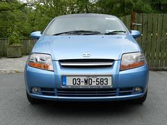 My new car in Laragh