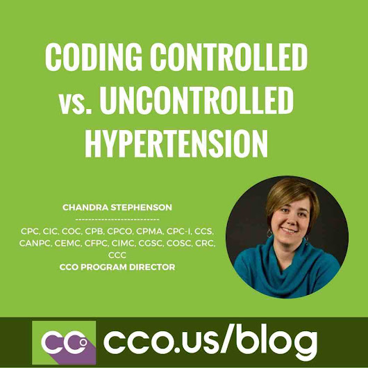 Coding Hypertension Controlled vs. Uncontrolled | ICD 10 Coding