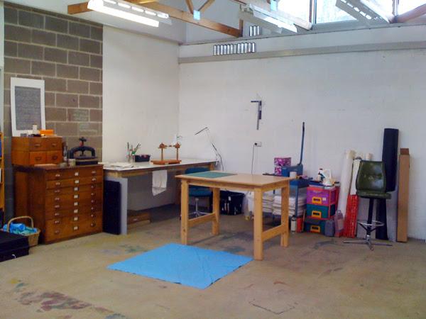 Studio Duck, top left corner