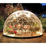 Garden Igloo - 12' Walk-In Garden Dome Igloo