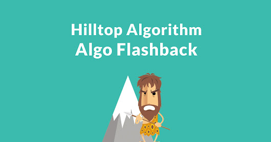 Google's Hilltop Algorithm - A Foundation for Modern SEO - Search Engine Journal
