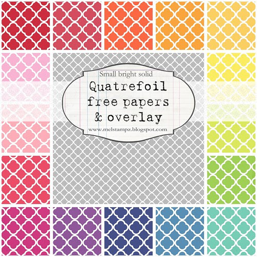 PREVIEW quatrefoil A small bright solid
