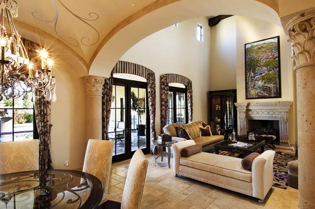 European Elegance - traditional - living room - phoenix - by VM