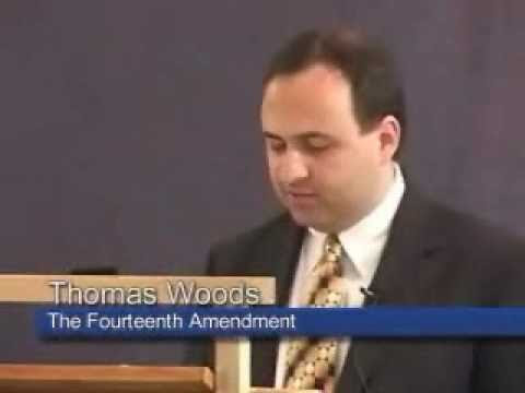 The 14th Amendment is Unconstitutional - Thomas Woods followed by Judge Leander H Perez