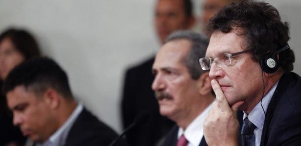 Jérôme Valcke, secretário-geral da Fifa, irá a Fortaleza e a Salvador nesta terça-feira