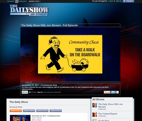 The Daily Show by Ape Lad