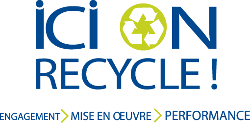 Le Floral est fier de participer au programme ICI on recycle!