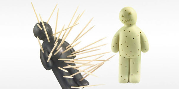 Voodoo Toothpick Holder