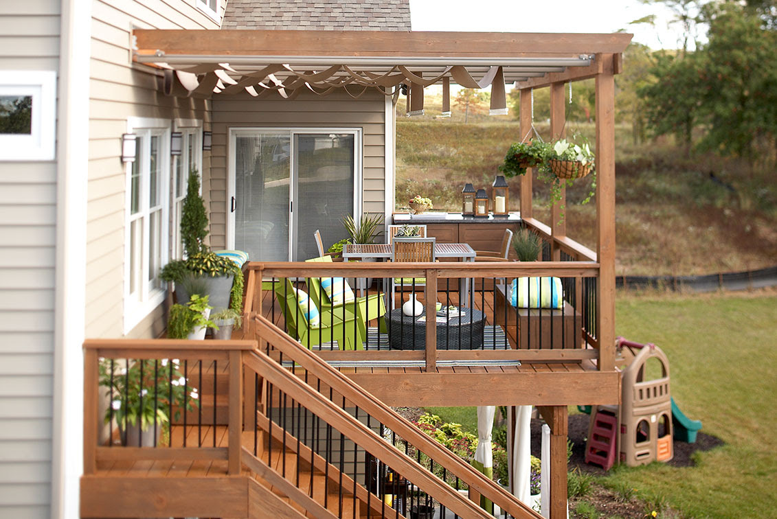 5 deck railing ideas to get your deck into tip-top shape ...