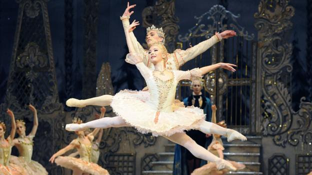 The dance of The Sugar Plum Fairy (Credit: Credit: Rex Features)