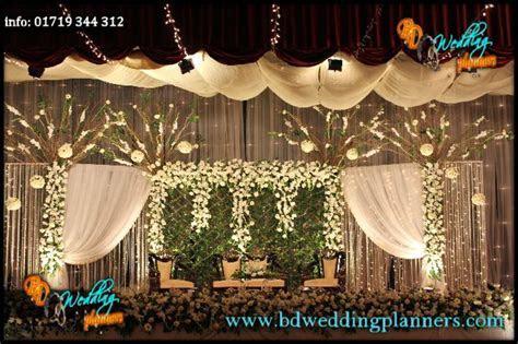 Wedding Reception Stage decor BD   bhuvan   Reception