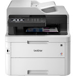 Brother BRTMFCL3750CDW 25 PPM Digital All-in-One Printer Whiteg & Gray