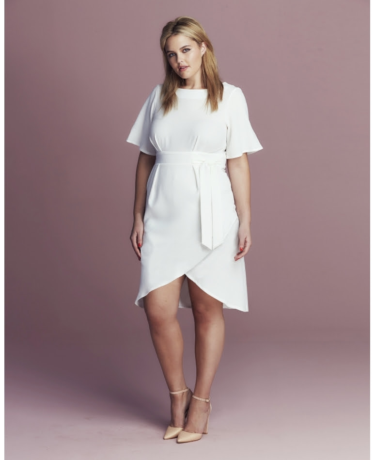 must have plus size white pieces for the spring  outfit