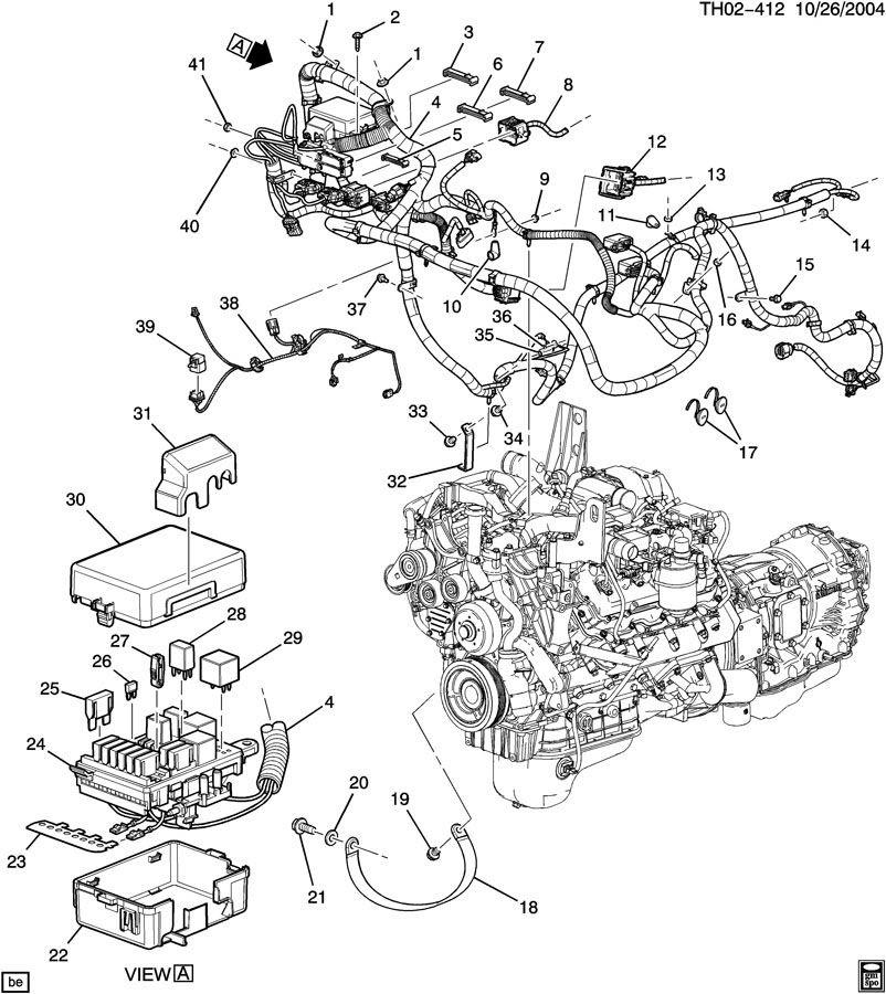 6 6 Duramax Engine Diagram