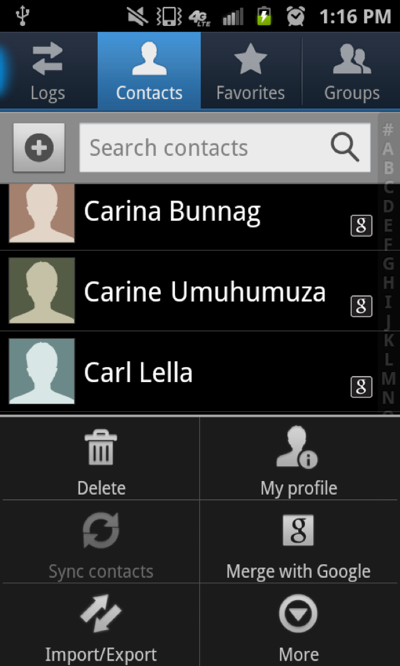Why are my Contacts icons on my phone with different ...