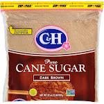 C & H Pure Cane Sugar, Dark Brown - 2 lb
