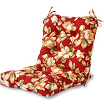 Greendale Home Fashions Outdoor Seat/Back Chair Cushion Roma Floral