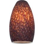 Access Lighting-23112-BRST-Inari Silk - 5.5 Inch Shade Brown Stone