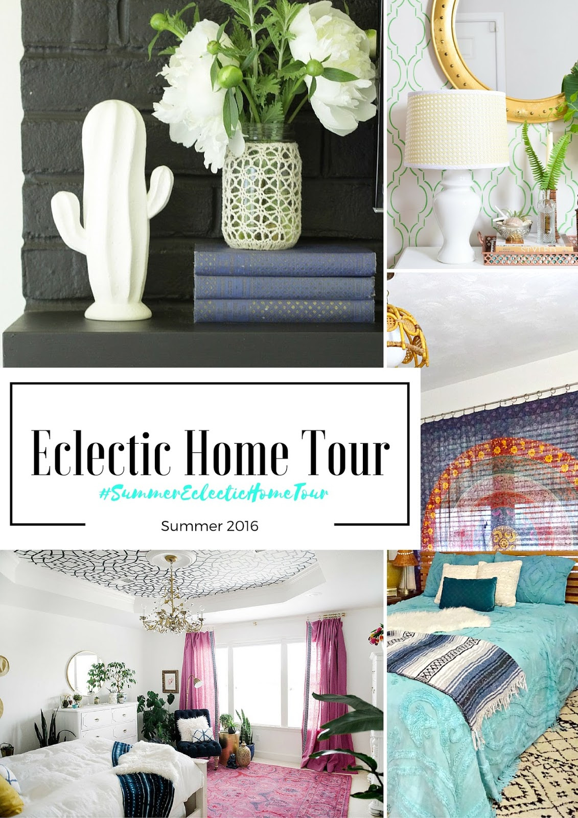 Eclectic Home Tour- friday