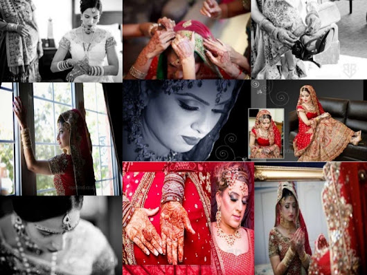 6 Bridal Shots To Glorify your Asian Wedding Photography Album