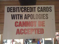 Do not apologise