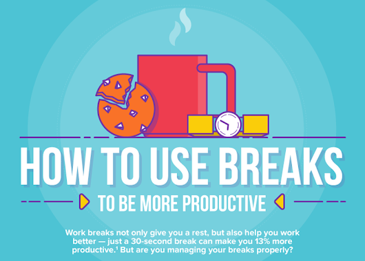 Top Tips to Manage Work-Breaks Properly & Boost Productivity