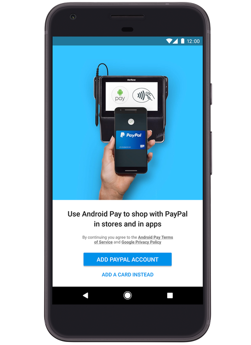 Forget cards, now you can use PayPal with Android Pay