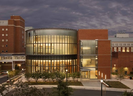 Claude Moore Medical Education Building at the University of Virginia designed by CO Architects was ...