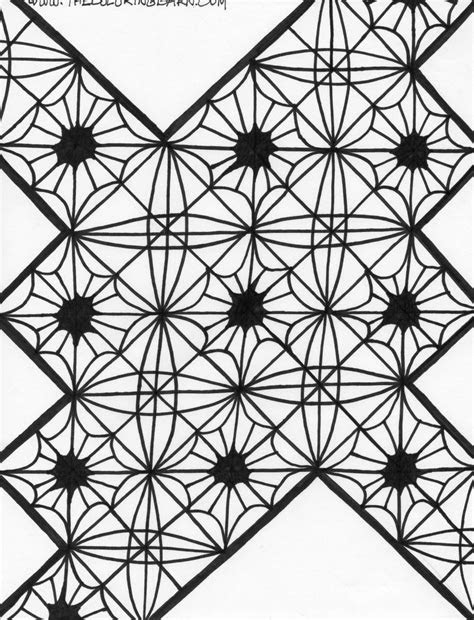 kaleidoscope coloring pages  coloring picture