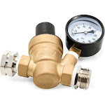 Camco 40058 Adjustable Brass Water Pressure Regulator