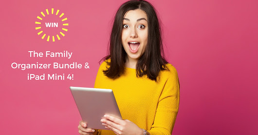 Enter to WIN a Ipad Mini 4 and Family Organizer Bundle!