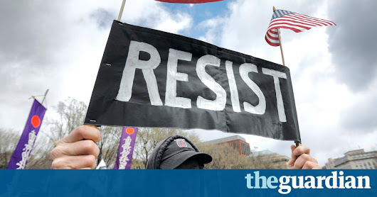 The Resistance Now: robots join the movement | US news | The Guardian