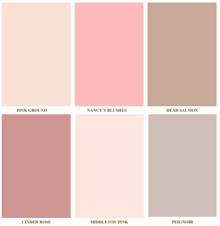 farrow and ball pink colors