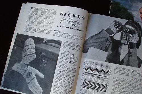 Vintage Patterns:  Gloves