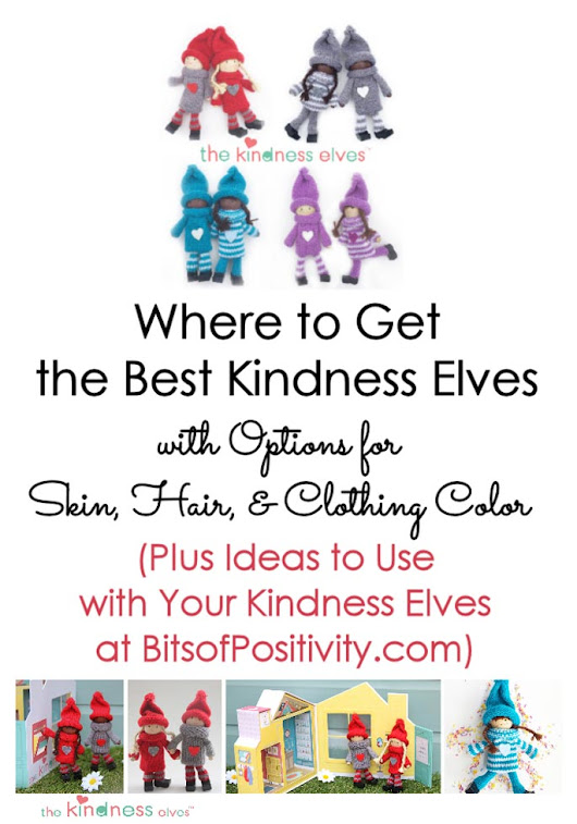 Where to Get the Best Kindness Elves with Options for Skin, Hair, and Clothing Color - Bits of Positivity