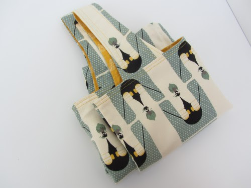 Birch Fabrics Canvas Pinguin