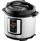 Insignia - 6-Quart Multi-Function Pressure Cooker - Stainless Steel