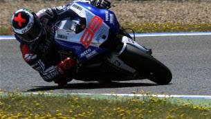 motogp qualifying lorenzo jerez