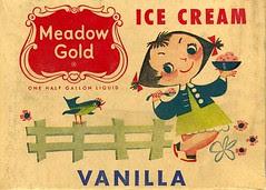 Mary Blair Ice Cream carton