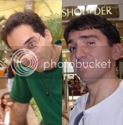 Coveiro e JR: cara de emoticon?