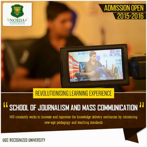 MASS COMMUNICATION COLLEGE IN DELHI NCR by Niu Noida