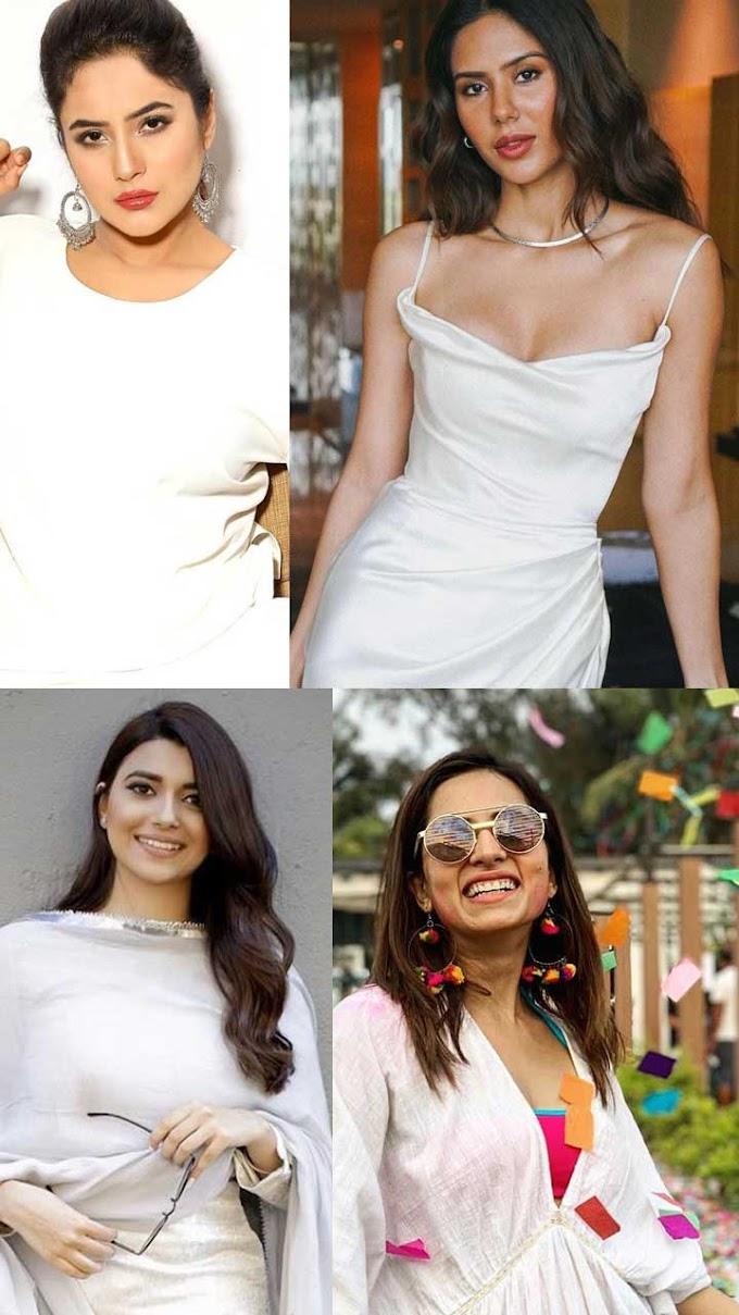Punjabi divas who rocked in white ensembles
