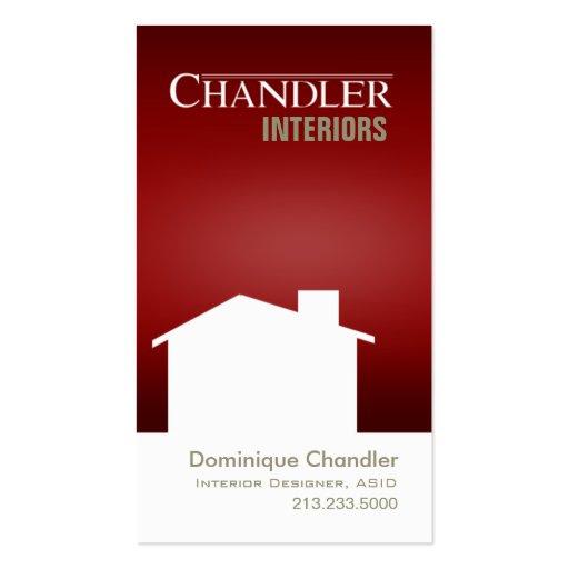 Interior Designer Home Stager Design Consultant Business Card