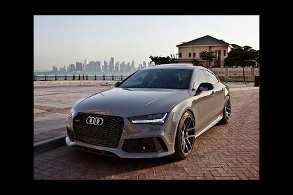 2018 Audi Rs7 Grey